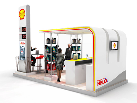 Exhibition Shell : Shell exhibition stand ford mmp exhibition and environment spaces