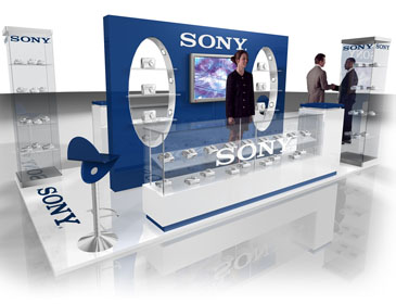 Case Blue Mmp : Sony enviro ford mmp exhibition and environment spaces