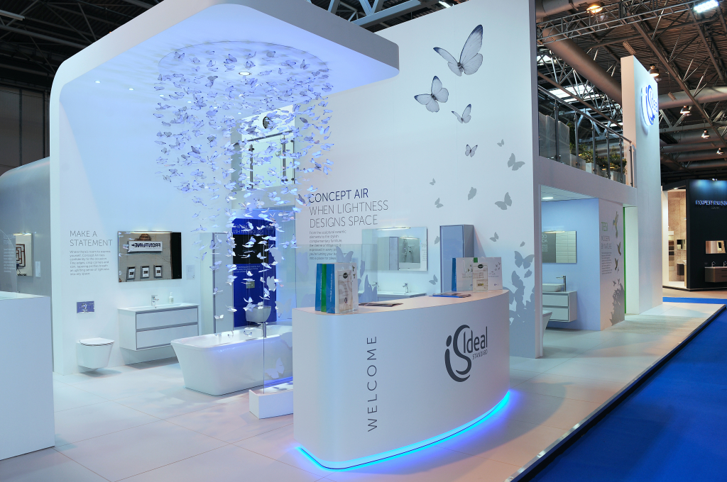 Ford MMP build an exhibition stand for Ideal Standard and Sottini